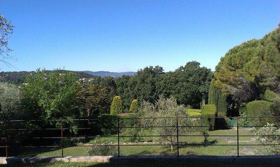 Villa Caladou: Vue Vers Grasse