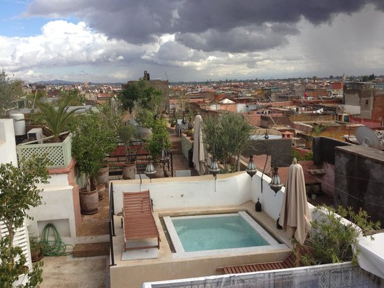Riad Moullaoud : photo du toit