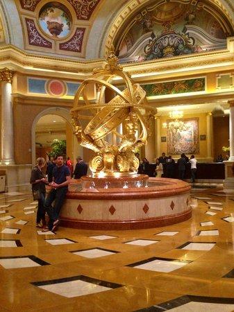 The Venetian Las Vegas : Lobby