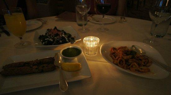 Bombay Club Restaurant : appetizers