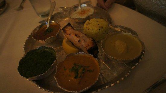 Bombay Club Restaurant : samunder thali
