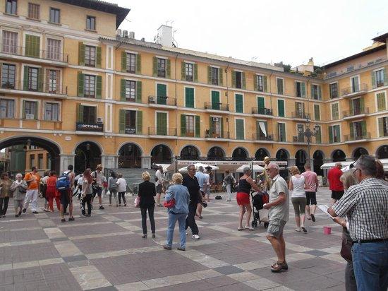 Placa Major : der Platz