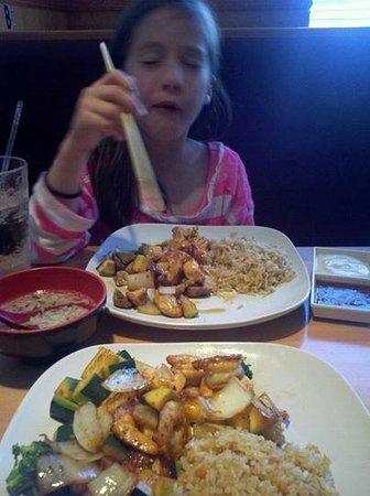 Delavan, WI : My daughter loving her food!