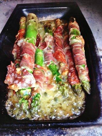 The Exmoor Beastro: Asparagus & Prosciutto