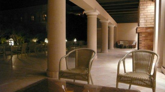Jaz Mirabel Club : Outside area of Hotel reception