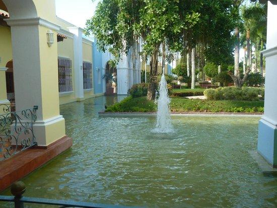 Iberostar Hacienda Dominicus: Vue du hall de la réception...
