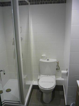 Kyriad Avignon - Palais Des Papes : Ванная комната с душевой кабиной