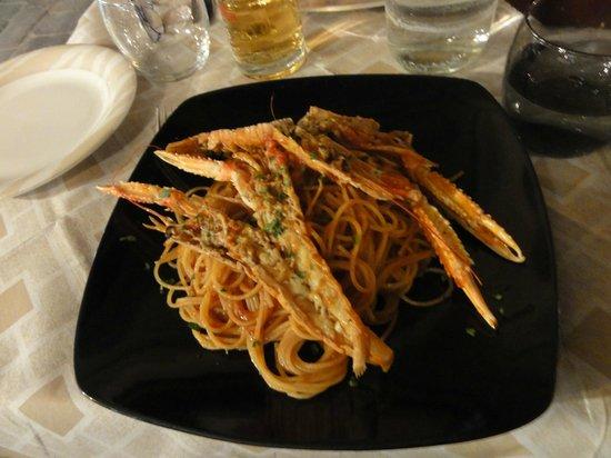 La Rivetta: Spaghetti langoustines