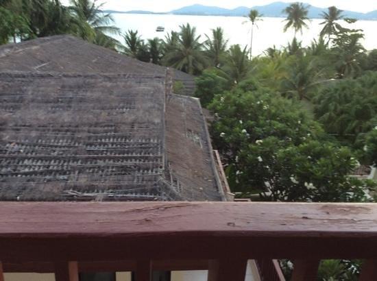 Panwa Boutique Beach Resort : vu de la chambre vue mer