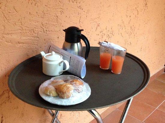 Sivory Punta Cana Boutique Hotel : Daily 'eye opener'