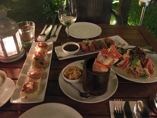 Marum: Tapas style dinner