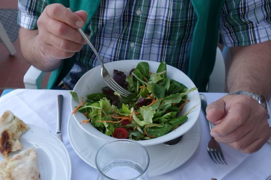 Le Fellini: Salat köstliches Dressing
