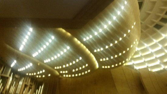 Moscow International House of Music: Космический потолок Светлановского зала