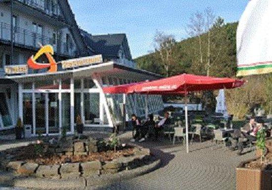 Venue Hotel am Park: Unsere Terasse