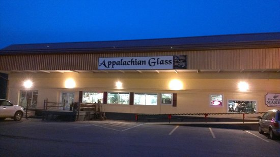 Weston, WV: Appalachian Glass Store Front