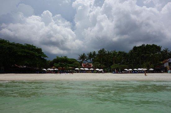 Chaweng Buri Resort : Hotel vom Wasser aus