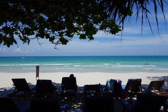 Chaweng Buri Resort : Blick vom Strandrestaurant