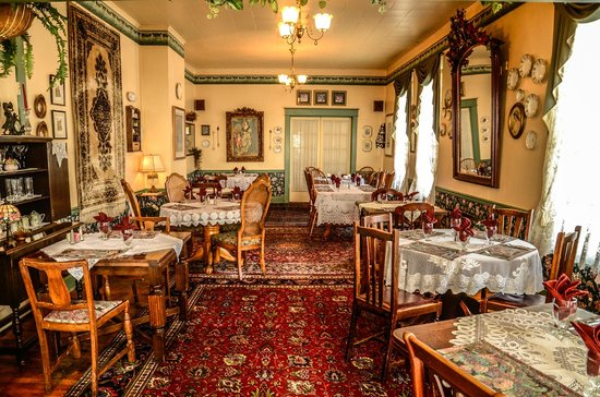 Hotel Strasburg: Quaint setting in the Dining Room