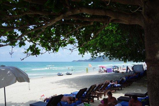 Chaweng Buri Resort : Blick vom Strandrestaurant / Bar