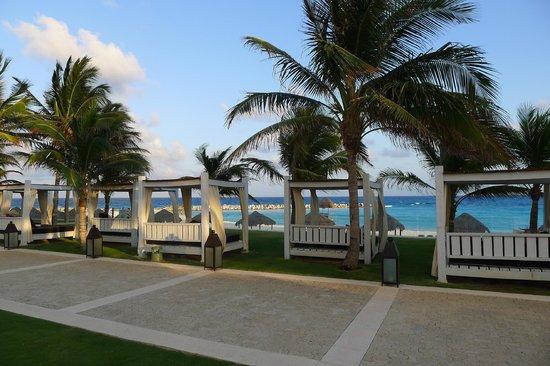 Krystal Grand Punta Cancun: The cabanas