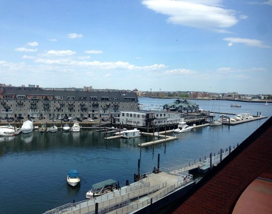 Boston Marriott Long Wharf: The view from my fifth floor room