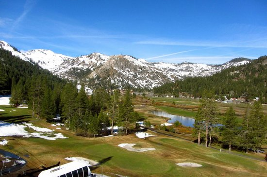 Resort at Squaw Creek: View from our standard valley-view room