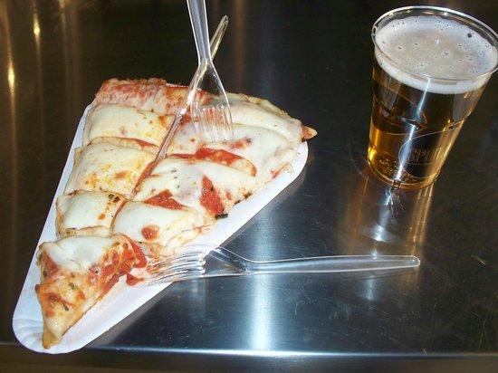 la pizza al trancio