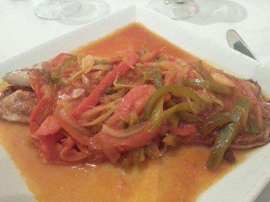 Inaki Restaurant: Chernia a la Rioja