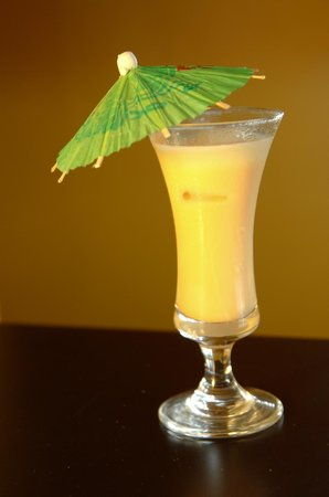 Island Bay Boutique Hotel: Tropical Fruit Drink
