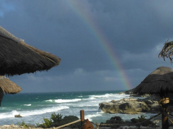 Villa La Bella: The provided a rainbow
