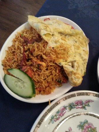 Muhib Indian Cuisine: Rice was cooked well but was quite dry