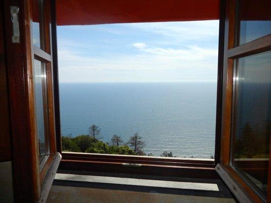 Il Borgo di Campi: Vue depuis la fenêtre de notre chambre