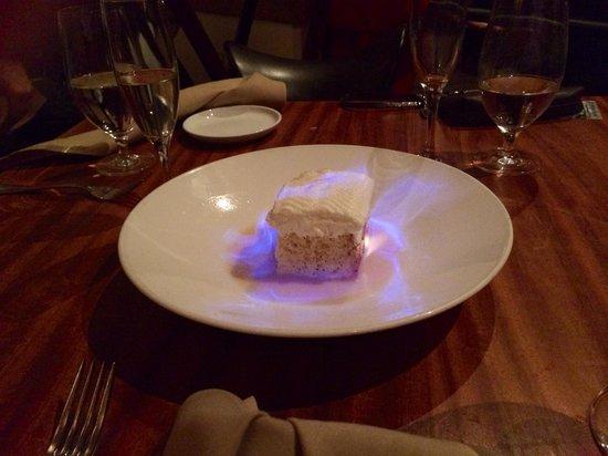 America's: Special dessert!