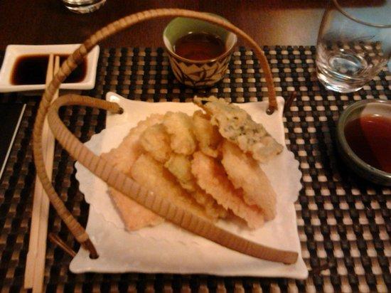 Kyo Japanese Restaurant: Tempura di verdure