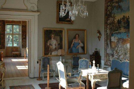 Rosenholm Slot : Inside the castle