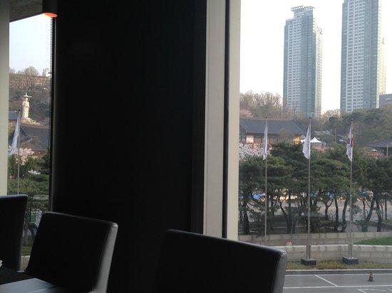 InterContinental Seoul COEX : Vista desde el Lounge