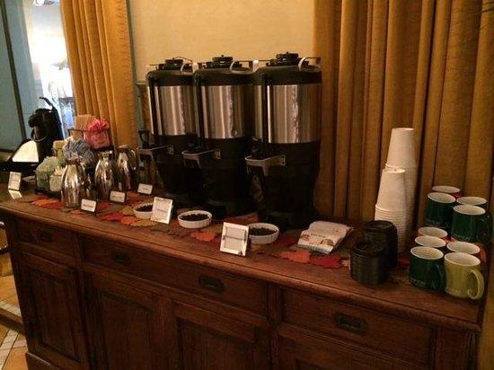 Kimpton Canary Hotel: Coffee and Tea