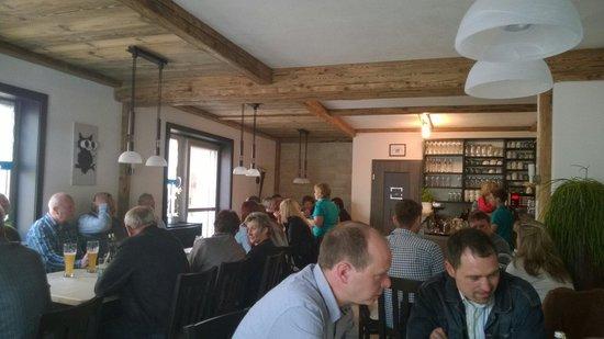 Gastraum Dorfcafe Etzelwang