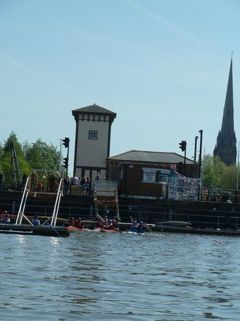 Bristol Packet Boat Trips: Harbour front