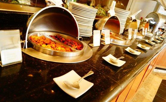 Holiday Inn Resort Acapulco: Deliciosa y variada barra de buffet