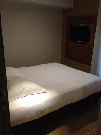 Hotel Lyon Metropole : La chambre