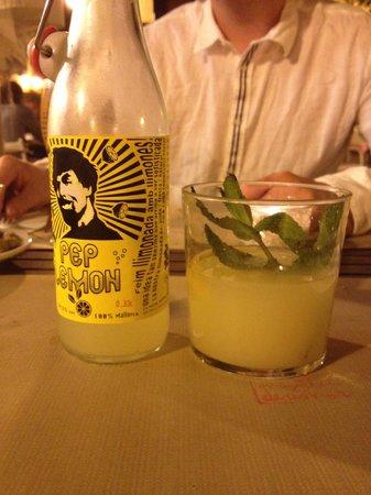 Restaurante Plaer Natural : Pep lemon with menthe