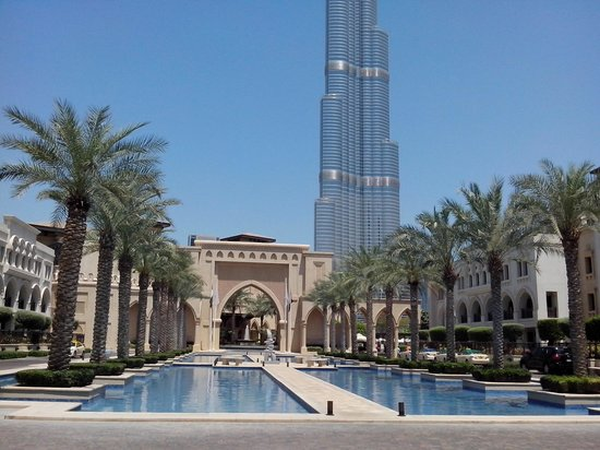 Burj khalifa from other view picture of burj al arab for Burj al khalifa hotel