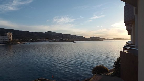 Globales Santa Lucia Hotel: Early morning view from balcony