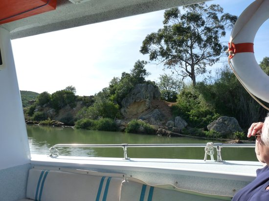 Alvor Boat Trips : where the Arade and Odelouca rivers join