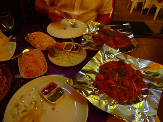 Bombay Palace: tender lamb dish