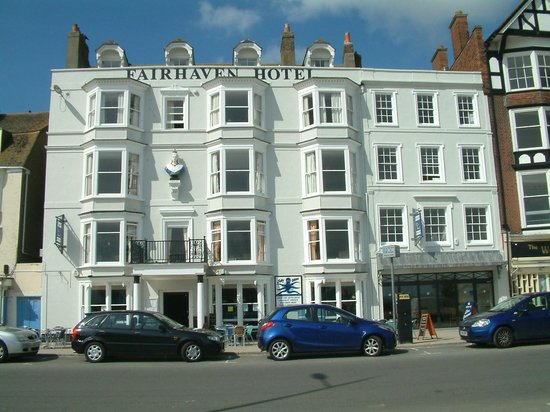 The Fairhaven Hotel: View from the beach