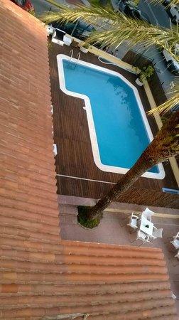 Adia Hotel Cunit Playa: La piscina muy bonita