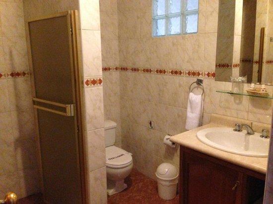Hotel Suenos del Inka: Baño