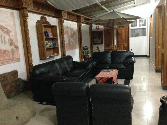Hotel Suenos del Inka: Área social